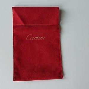 Cartier Necklace Pouch